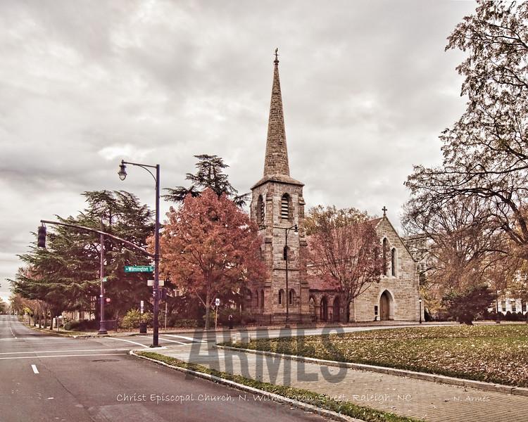 Christ Episcopal Church, North Wilmington Street, Raleigh, NC