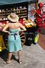 Pushcart Vendor at Fanuel Hall, Boston, MA <br /> (c) Anna M. Croke/Visual Image, Inc.