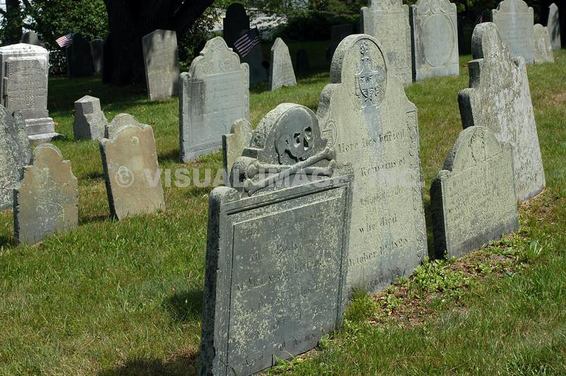 Gravestones - Stock