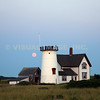 Stage Harbor Lighthouse, Harding Beach, Chatham, MA on Cape Cod.
