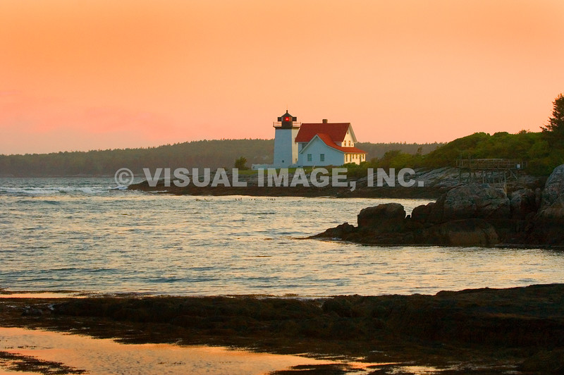 Lighthouse - Maine