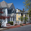 Homes along Congdon Street in Providence, RI. (c) Tom Croke/Visual Image Inc.