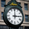 The Shepard's Clock in downtown Providence, RI - a remebrance to the historic Shepard's Department Store (now long gone). (c) Tom Croke/Visual Image Inc.