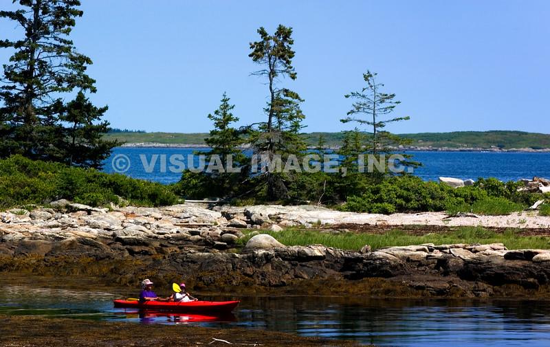 Maine - Southport - Cape Newagen