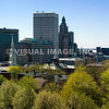 The view of Downtown Providence from Prospect Terrace Park, RI.  (c) Tom Croke/Visual Image Inc.