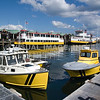 The Ferry Docks on the Portland, Maine waterfront. (c) Tom Croke/Visual Image Inc.