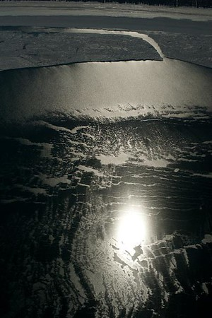 Winter Reflections Georgian Bay