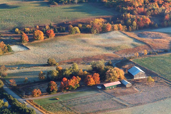 Fall Colours and Frost Caledon and North of Toronto