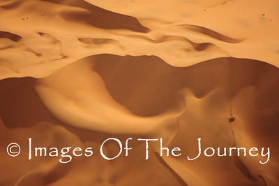 Namibian Dunes Aerial Photograph