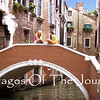 Conversation on a Venice Bridge