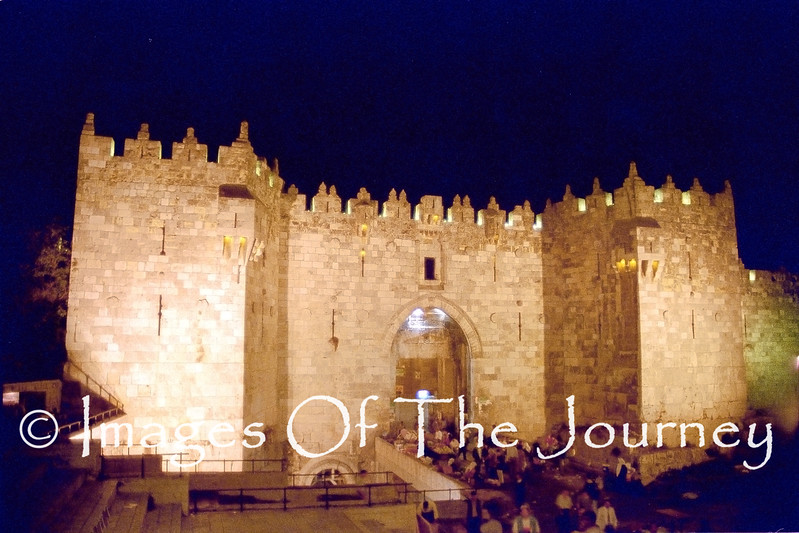 Damascus Gate Old City Of Jerusalem