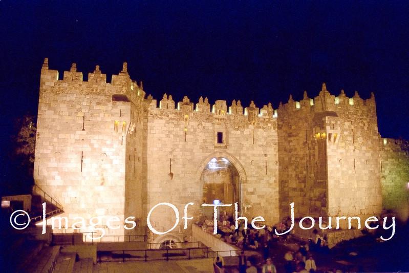 Damascus Gate Old City Of Jerusalem