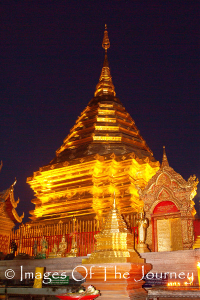 Doi Sutep Cheddi at Night