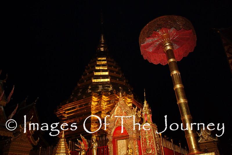 Doi Sutep Chang Mai at night