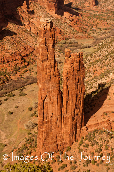 Spider Rock Canyoon De Chelle Arizona