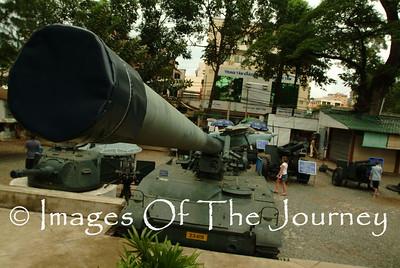 US Tank at War Remembrance Museum Saigon