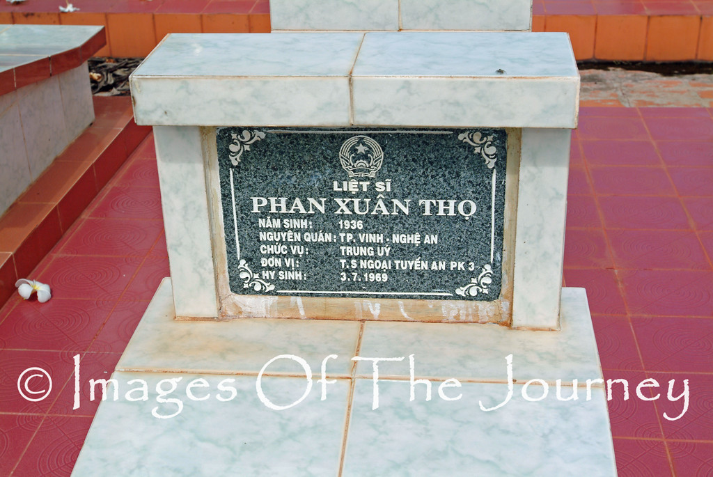 Viet Cong War Grave