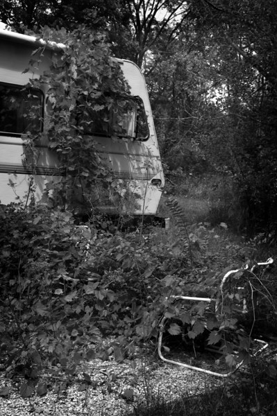 An old camper found in a rock quarry in Indiana