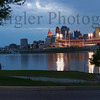 Cincinnati Ohio afterglow 2006