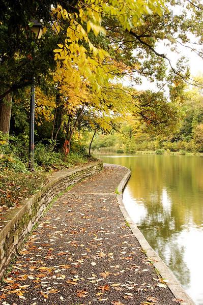 A walk around the lake