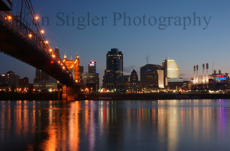 Cincinnati, Ohio at dawn