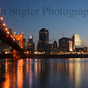 Cincinnati, Ohio at dawn