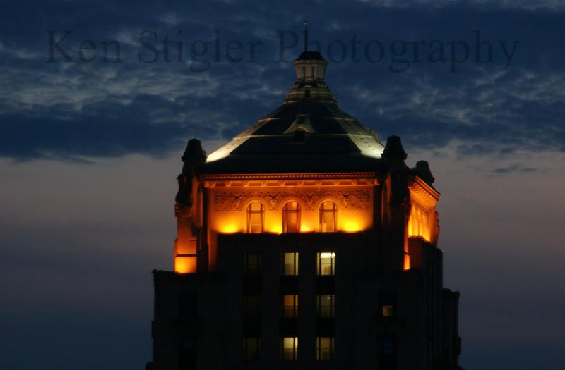 A courthouse in Cincinnati, Ohio.