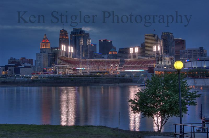 Downtown Cincinnati - Afterglow 2006