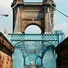 The John A Roebling Suspension Bridge