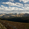 View along the Trail Ridge Road in the Rocky Mountain National Park.  This is at roughly 10,000+ feet above sea level