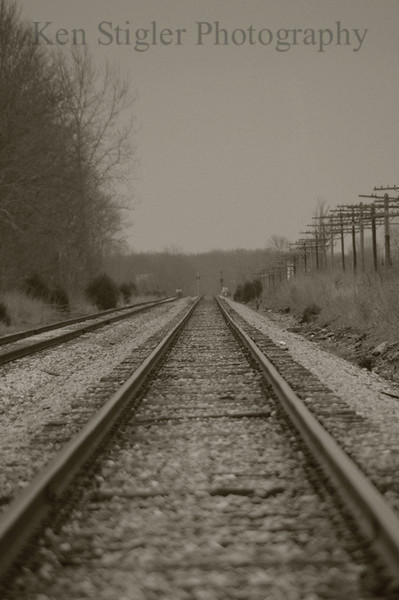 Traintrack in Indiana
