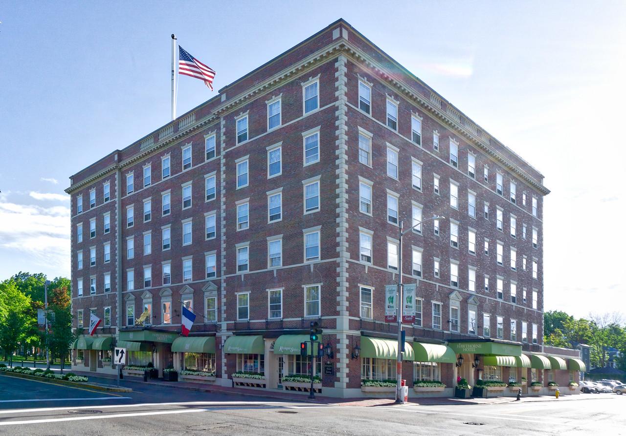 The historic Hawthorne hotel