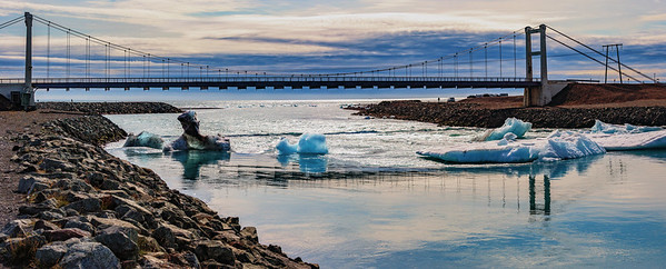 Bridge over Jokulsarlon, Iceland