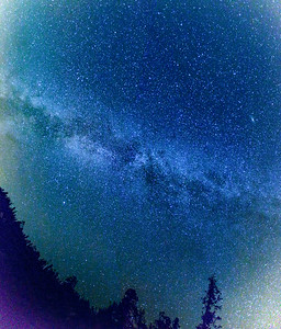 Milky Way at Wolf Creek Pass, CO