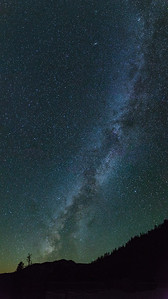 Milky Way over Wolf Creek Pass