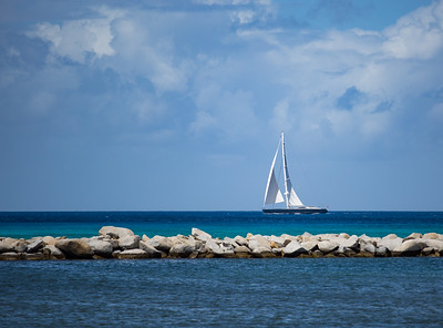 Sailboat in BVI