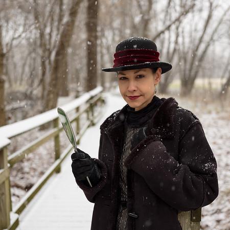 Vox Serene in the Snow