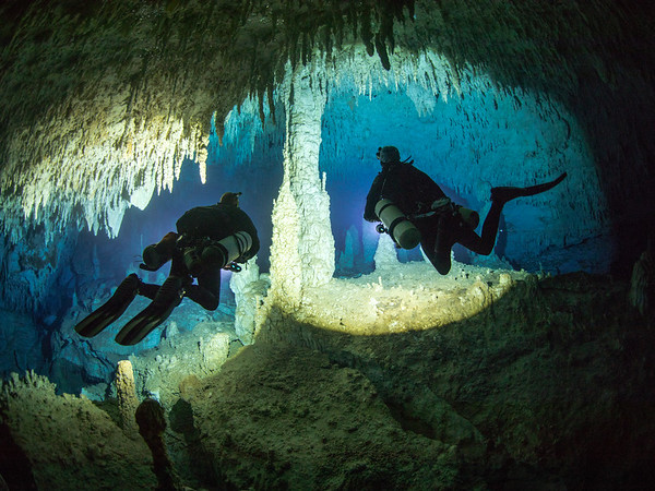 Dan's Cave, Abaco, Bahamas shot during the National Geographic Exploration, Outreach and Survey Expedition. Photo: Jill Heinerth
