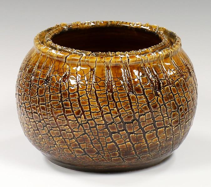 amber-crackle