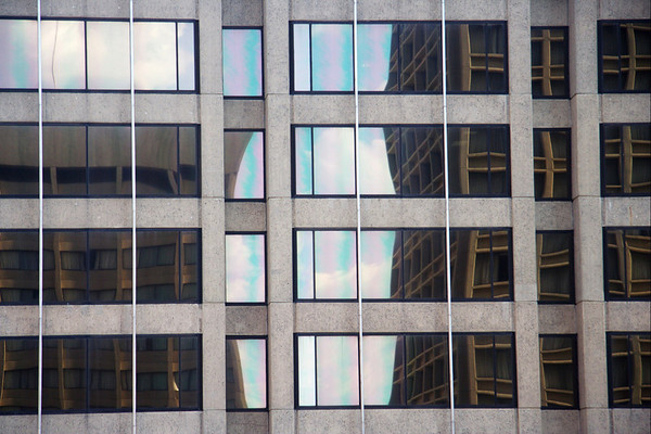 Baltimore building windows