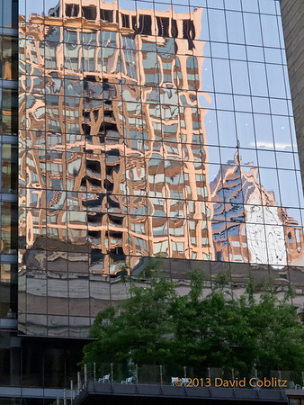 Baltimore building reflections