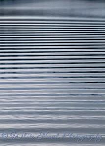 Ripples across the water, near Shelton WA