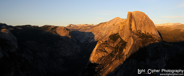 Half Dome 2.4:1 ratio