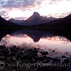 "<center><font face=""Papyrus"" color=""#5D92B1"" size=""5"">Sunset at Swiftcurrent Lake</font><br>  <font face=""Trebuchet MS"" size ""3"">Image I.D.:  #M-08-020<i></i>"