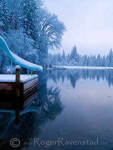 Icy Slide Image I.D. #:  M-08-013
