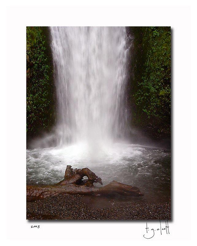 Oregon Waterfall II