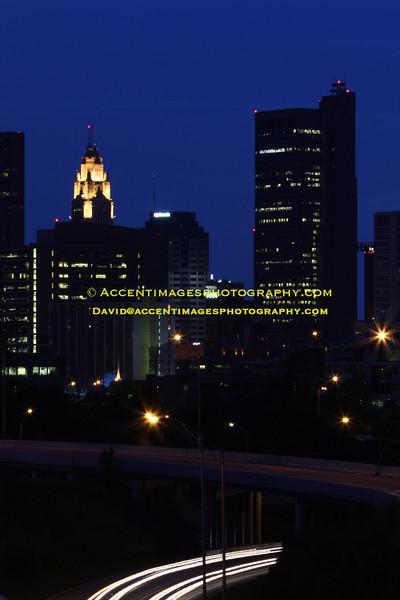 June evening, Columbus, Ohio