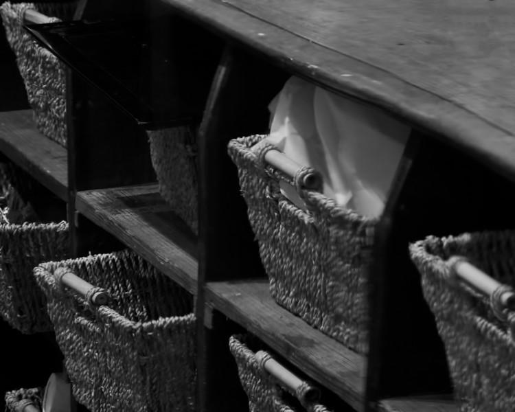 Baskets in Store, Fredericksburg, TX
