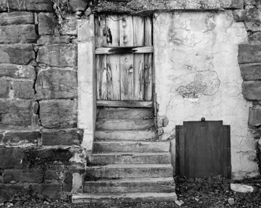 Abandoned Entrance, Jerome AZ
