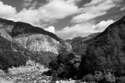 Merced River Valley, Yosemite National Park